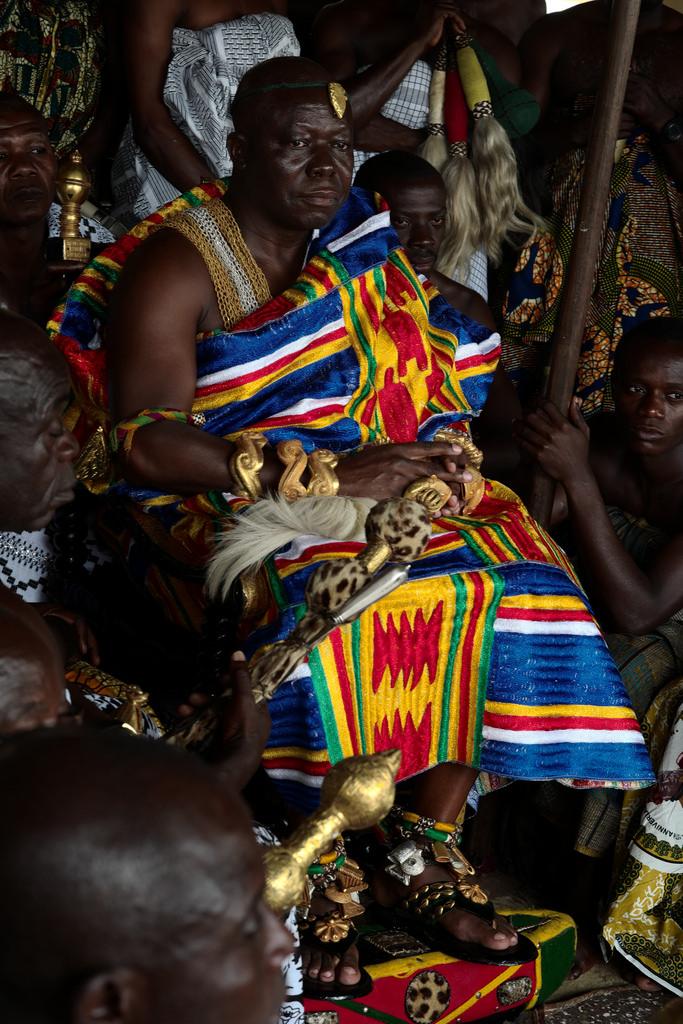 Nana Osei tutu II, Kumasi, Ghana.jpg